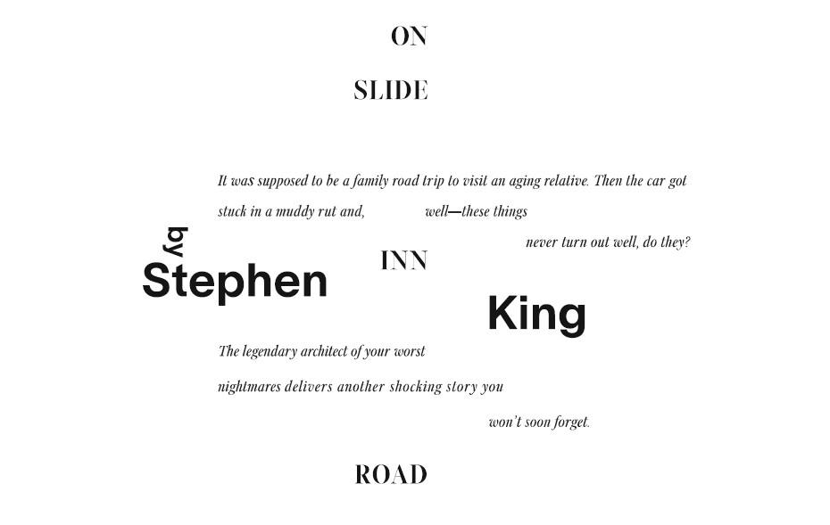 Onslideinnroad Stephenking