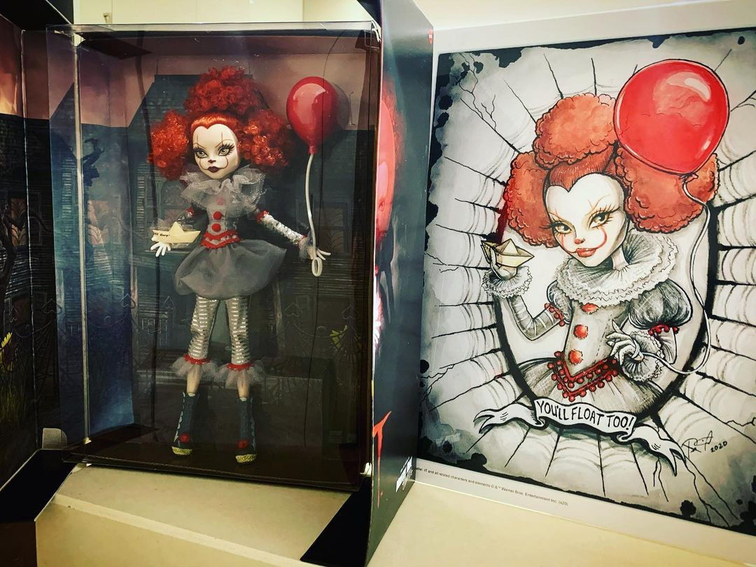Poupee Pennywise Mattel