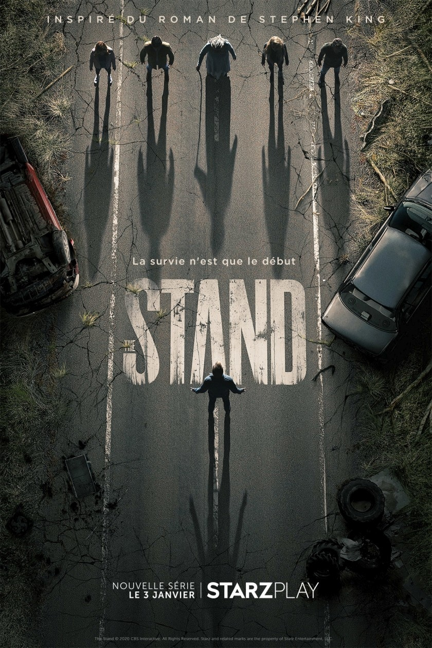 Thestand Serie Stephenking Starzplay 3janvier Poster Francais