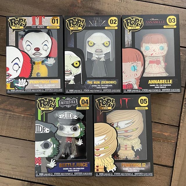 Pins Pennywise Funko Grippesou