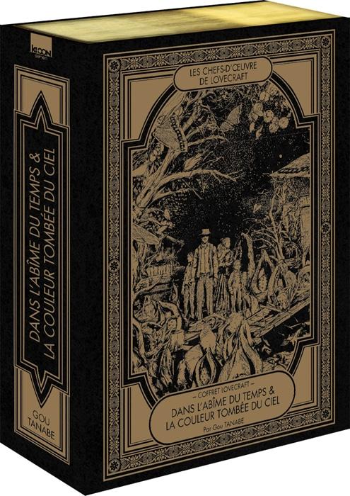Hp Lovecraft Manga Gou Tanabe Ki Oon Editions Danslabime Coffret