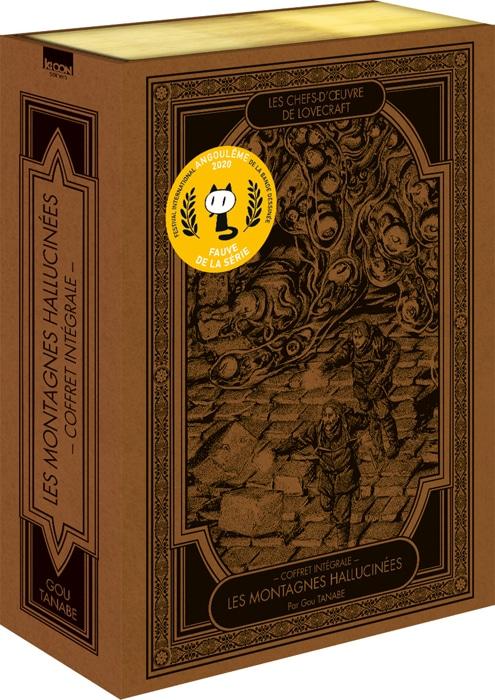 Hp Lovecraft Manga Gou Tanabe Ki Oon Editions Lesmontagnes Hallucinees Coffret