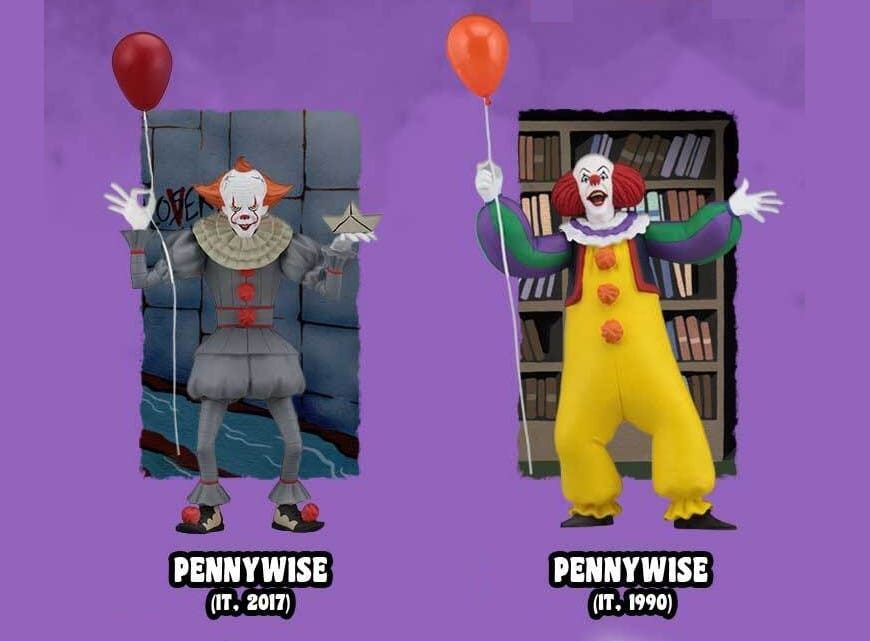 Neca Ultimate Checklist Jumelles Figurines Pennywise