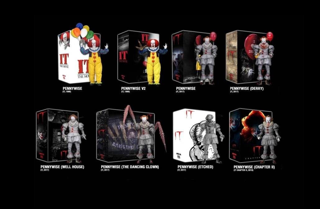 Neca Ultimate Checklist Pennywise
