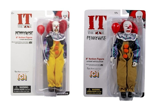 Mego Figurine Grippesou Pennywise 1990 Cover