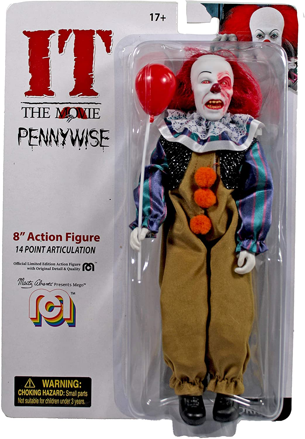 Mego Figurine Grippesou Pennywise 1990 Version2020
