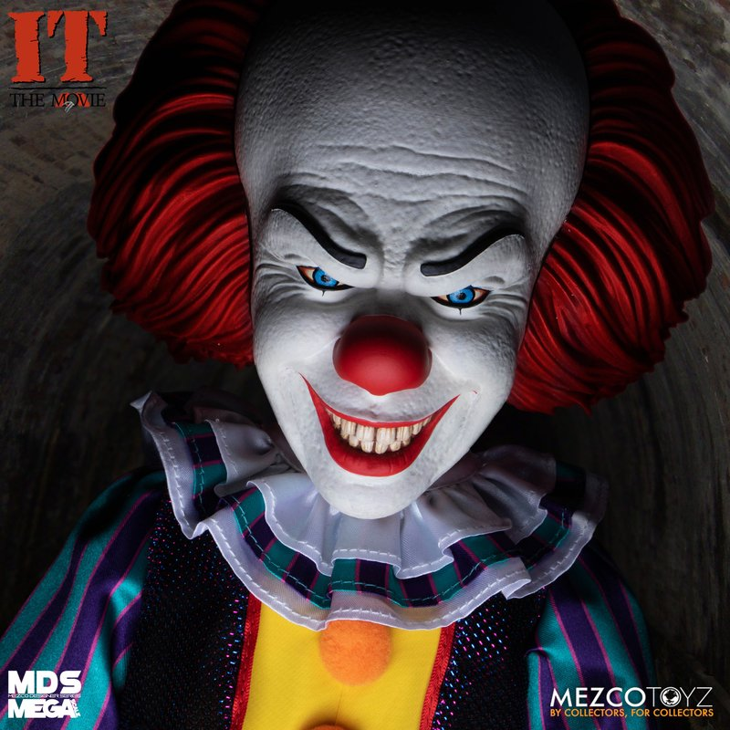 Mezcotoys Pennywise Timcurry Speakingdoll