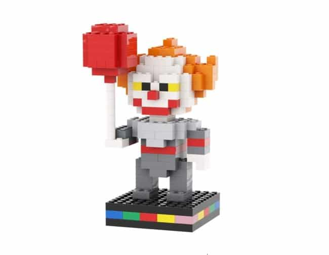 Pennywise Pixo Comme Lego Cover