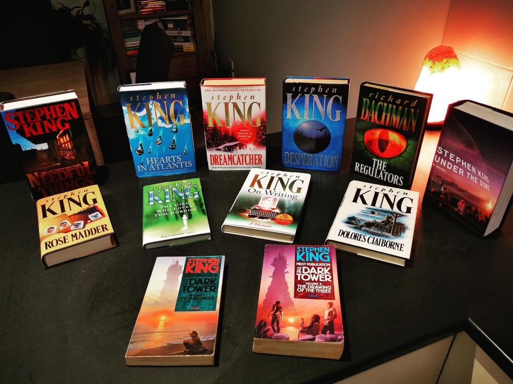 Stephen King Uk First Editions Collection 02