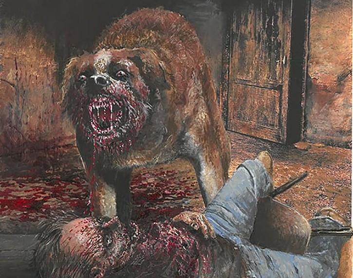 Cujo Stephenking Edition Anniversaire Pspublishing Glennchadbourne 26032021 Cover