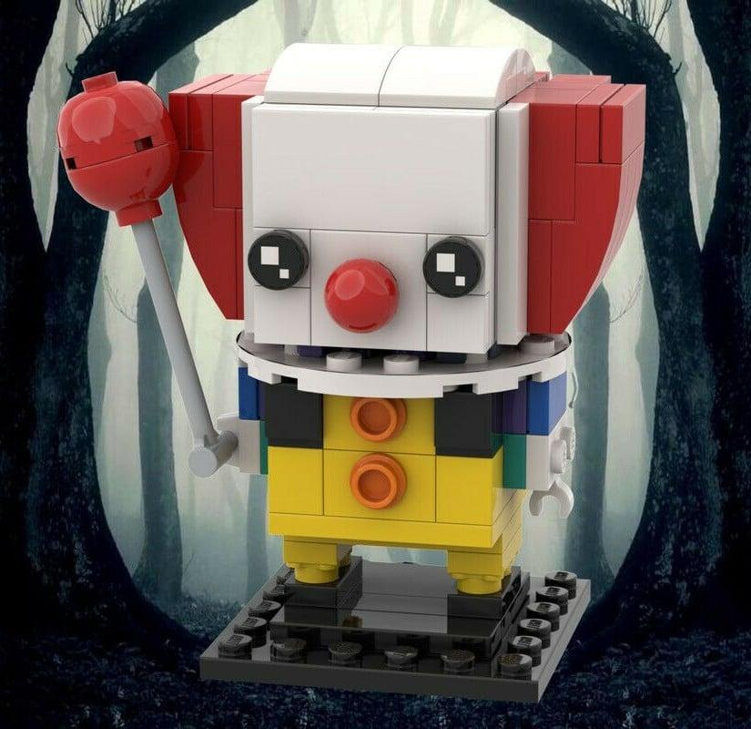 Brickheadz Pennywise Figurine 01