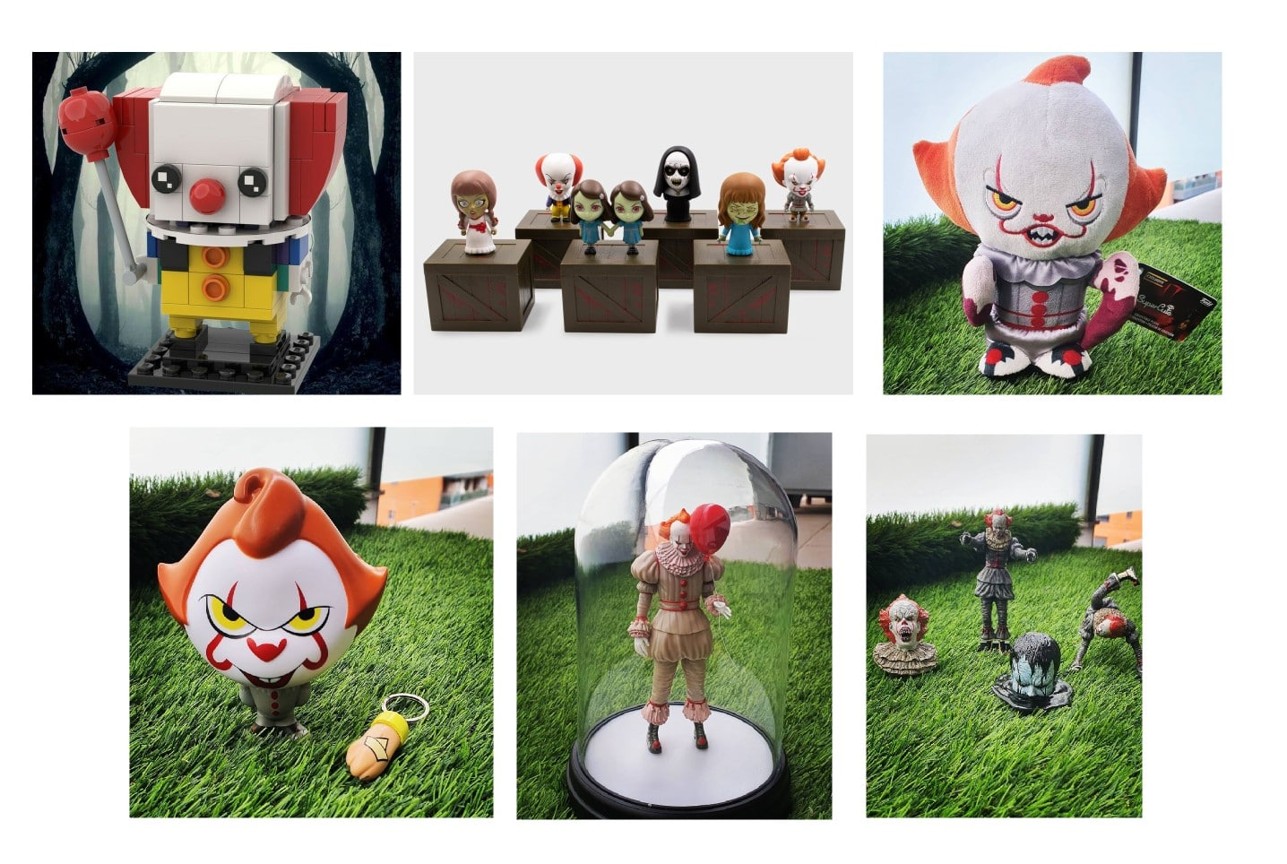 Figurines Grippe Sou Stephenking Nouvelles