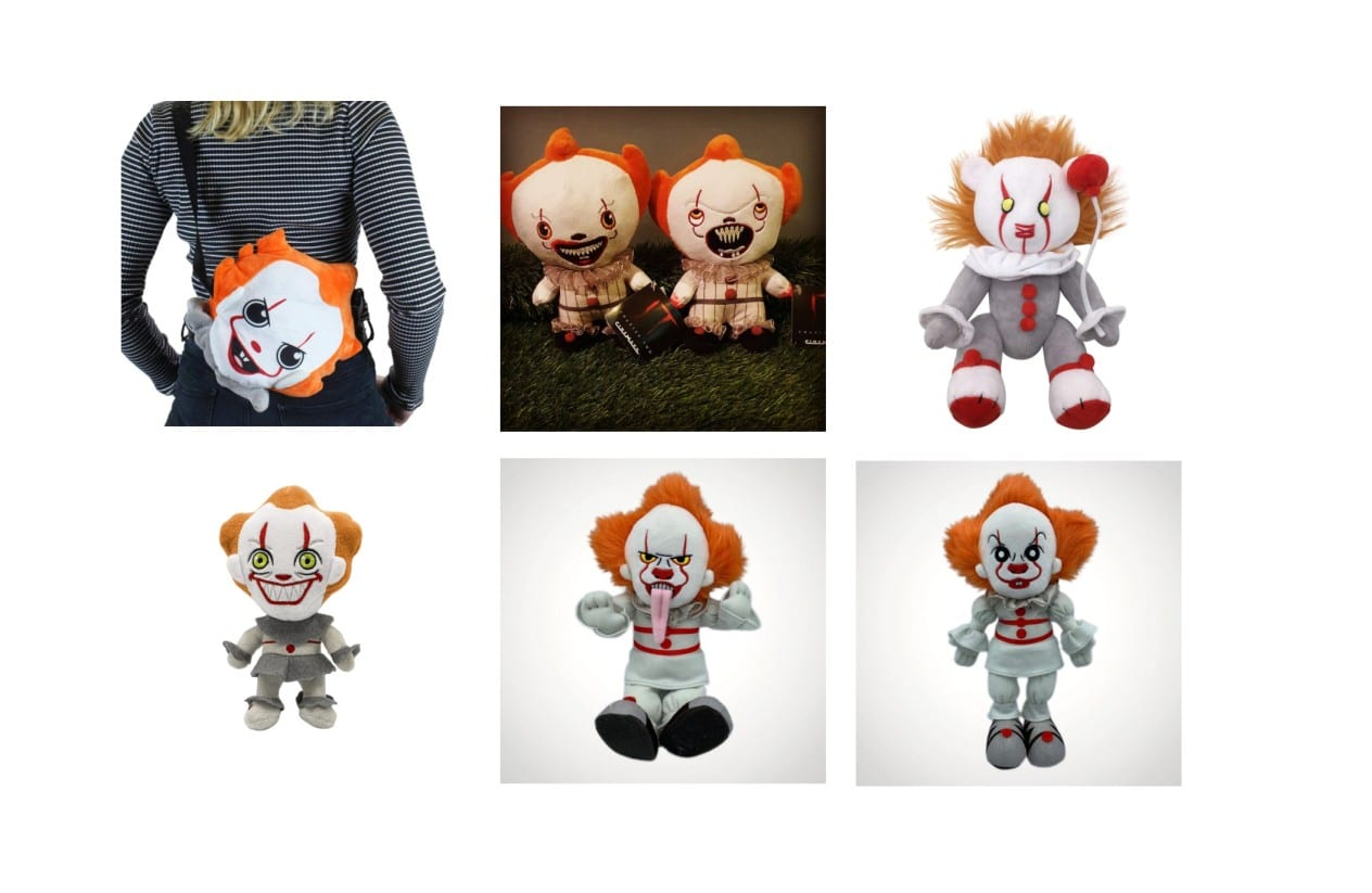 Peluches Grippesou Pennywise