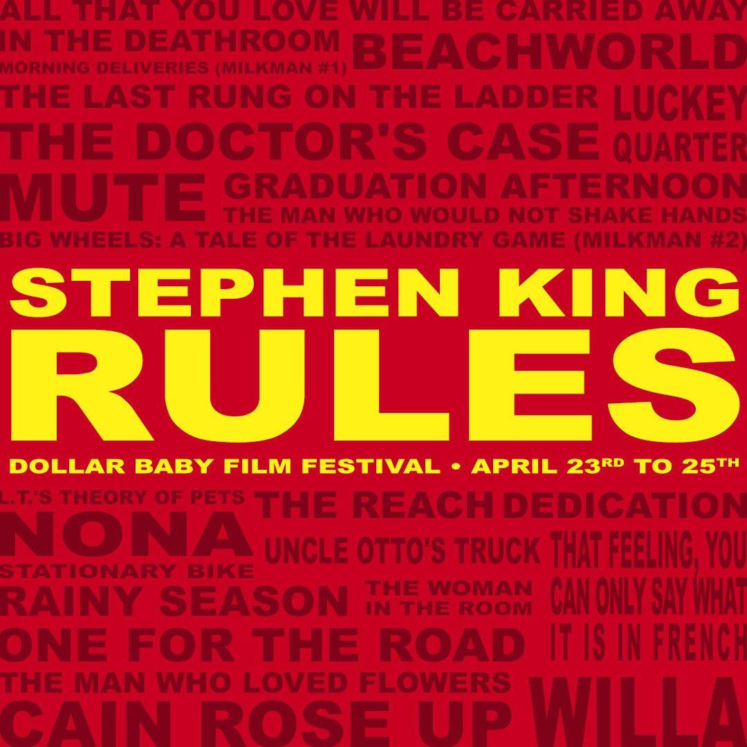 Stephenkingrules Dollarbaby Festival Poster