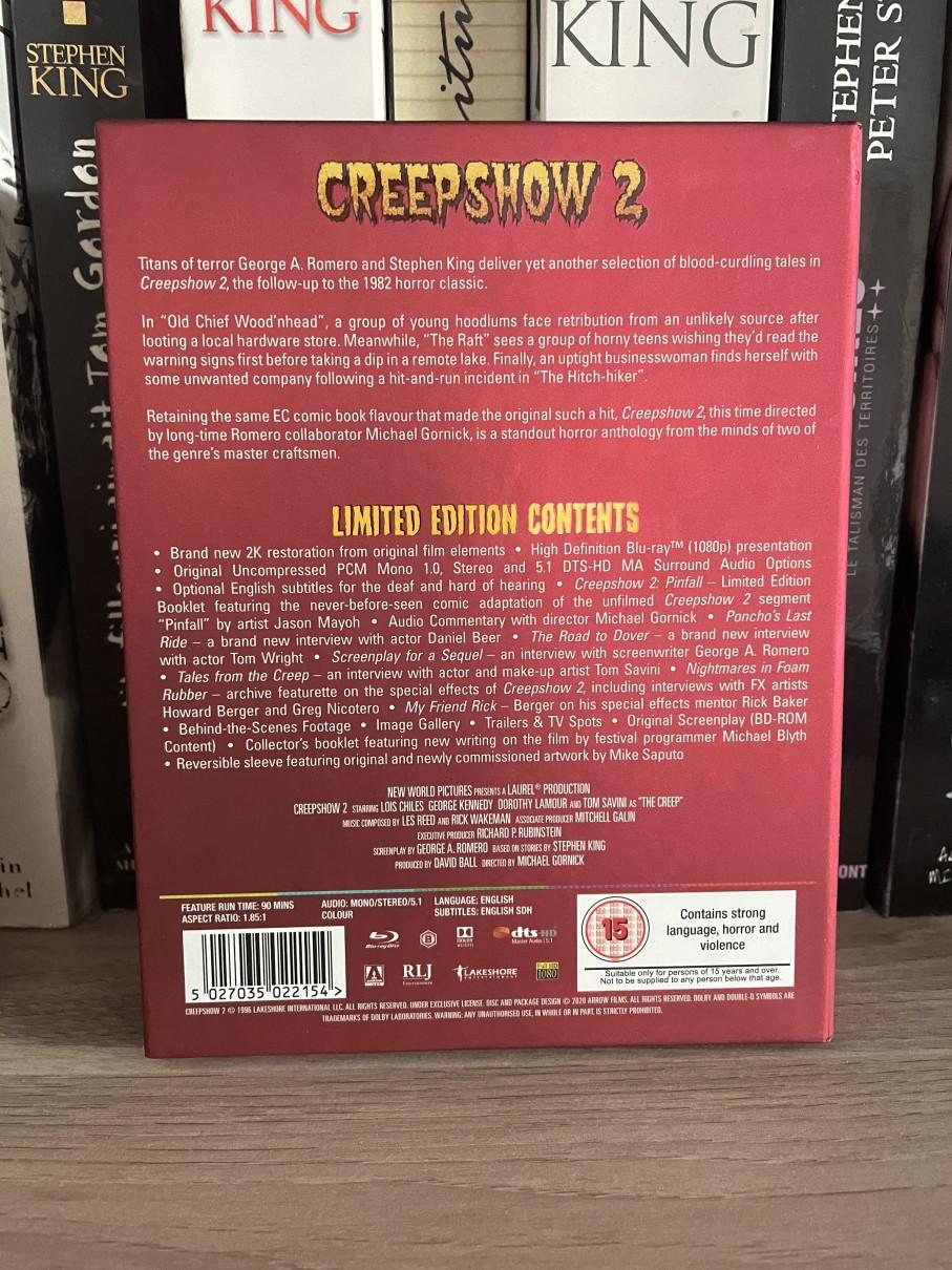 Creepshow2 Arrowvideo Dvd Limitee 03