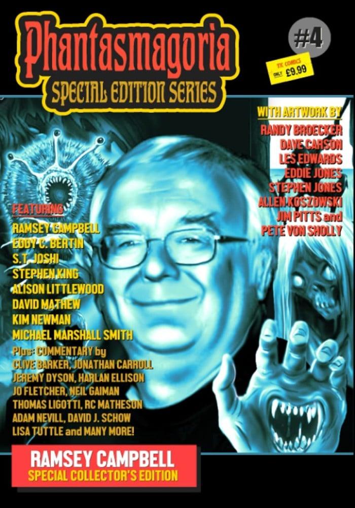 Phantasmagoria Specialedition 4 Ramsey Campbell Cover