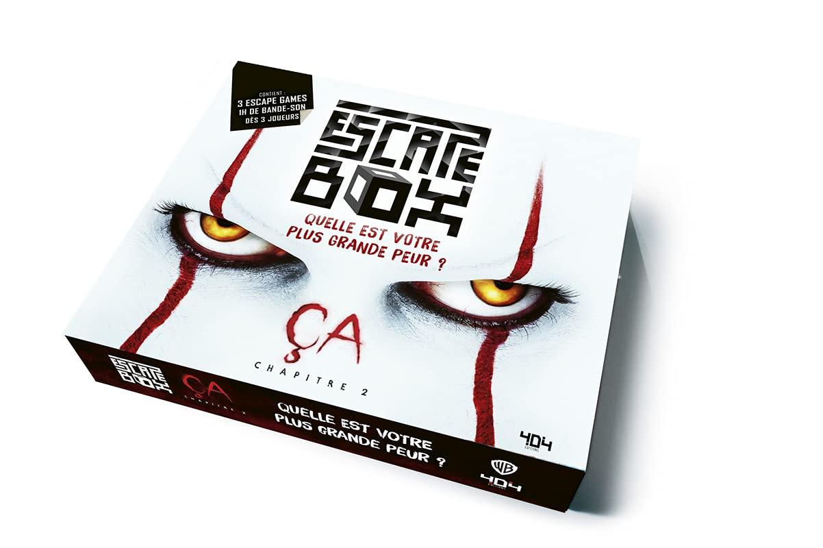 Ca Stephenking Escape Box 404 Editions