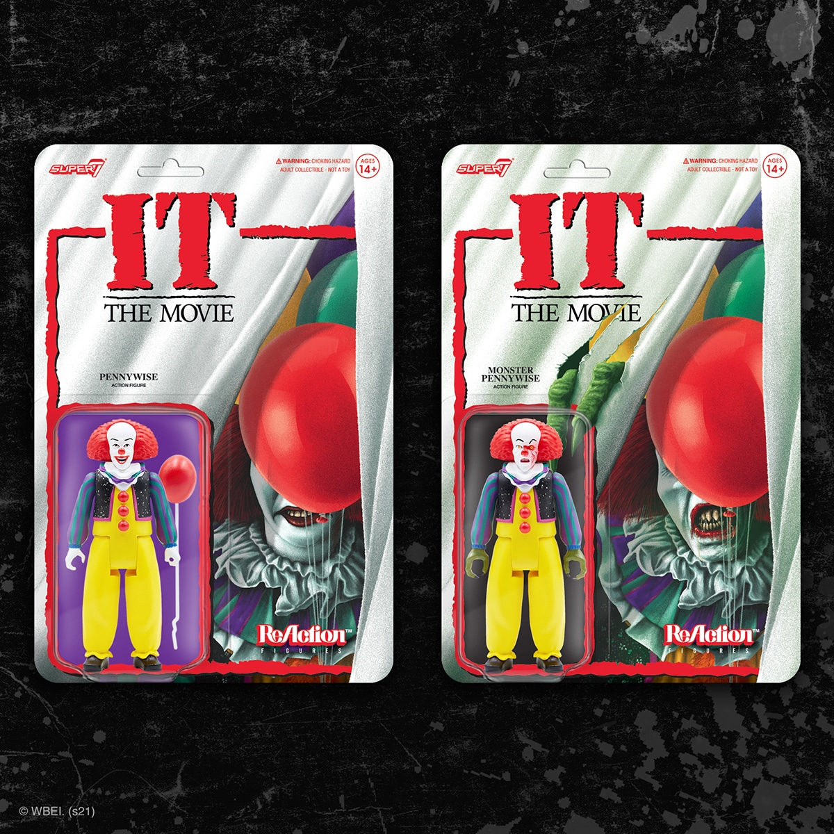 Super7 Pennywise Figurine Grippesou1990 Timcurry