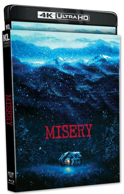 Misery 4k Ultrahd Bluray Stephenking Kino Lorber