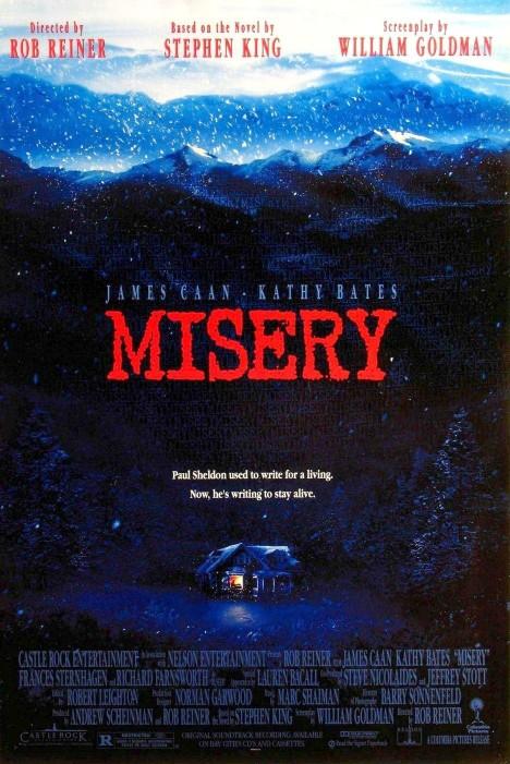 Misery Film Poster