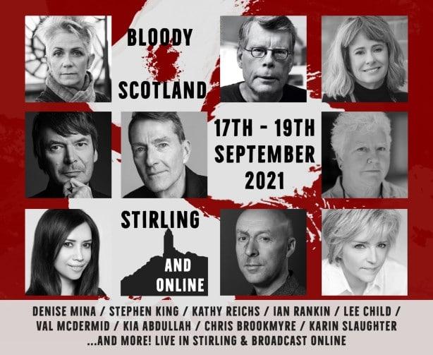 Bloodyscotland Festival Stephenking 2021