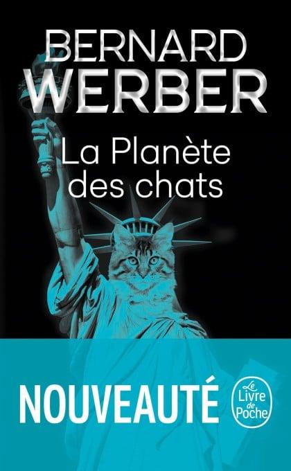 Laplanetedeschats Bernard Werber Couverture Lelivredepoche