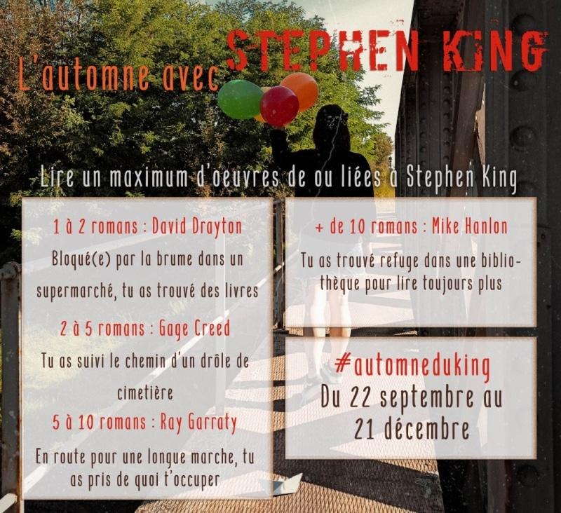 Challenge Automne Du King 2021 Stephenking Regles