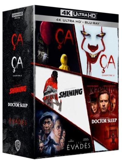 Collection Films Stephenking 5 Bluray 4k Ultrahd Octobre2021