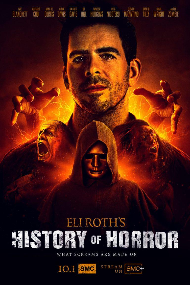 Eli Roth History Of Horror Season3 Poster