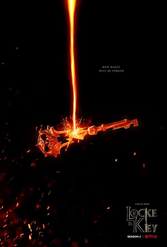 Lockeandkey Serie Netflix Saison2 Poster 2021