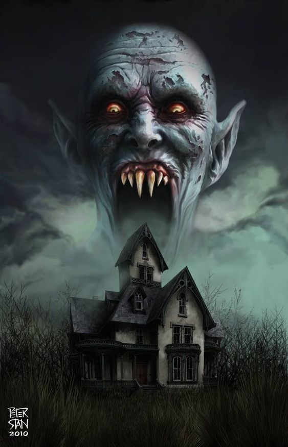 Salem Stephenking Film 2022 Illustration Vampire