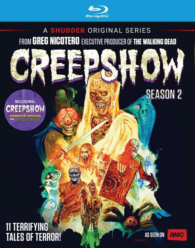 Creepshow Season2 Bluray Christmas Halloween