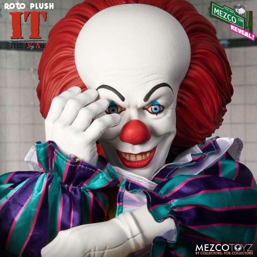 Mezco Roto Plush It Fallcon21 Roto Pennywise Timcurry 01