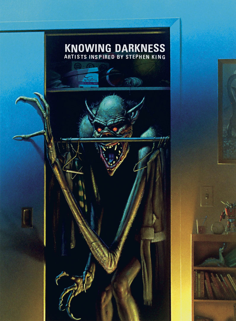Knowing Darkness : Artists inspired by Stephen King, cover