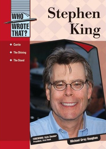 STEPHEN KING (collection : WHO WROTE THAT?)