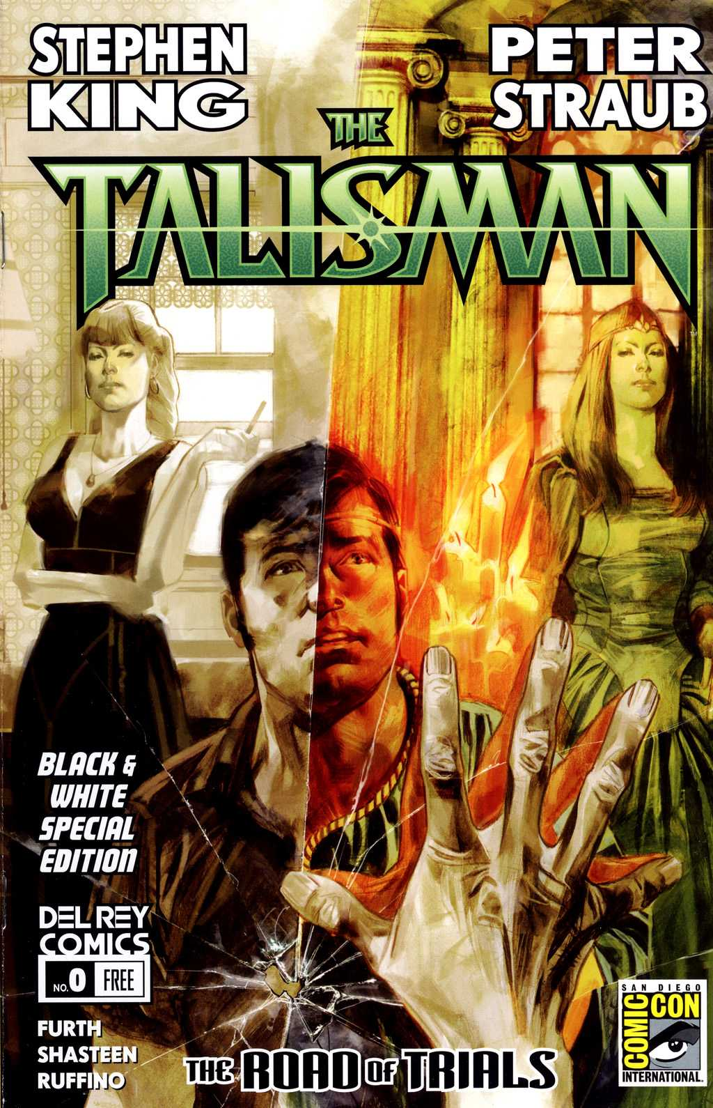 the talisman 0, BD, couverture