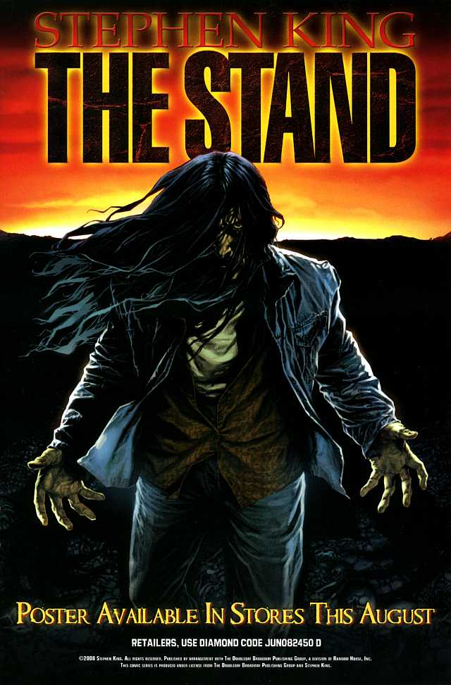 the stand, comic book, sketchbook