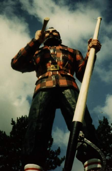 paul bunyan - bangor - stephen king 2