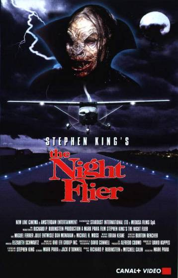 Les ailes de la nuit, the night flier, film Stephen King