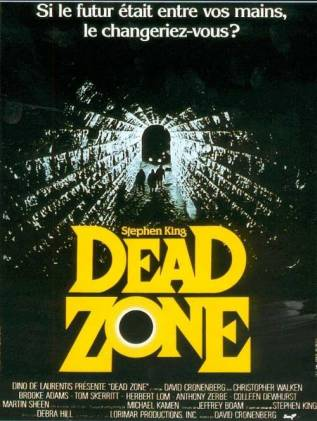 DEAD ZONE (film Stephen King par Cronenberg)