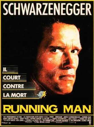Running man, film Stephen King