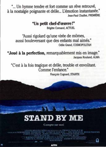 STAND BY ME, film Stephen King