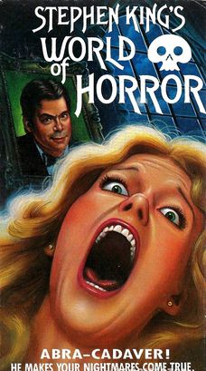 world of horror, vhs, stephen king