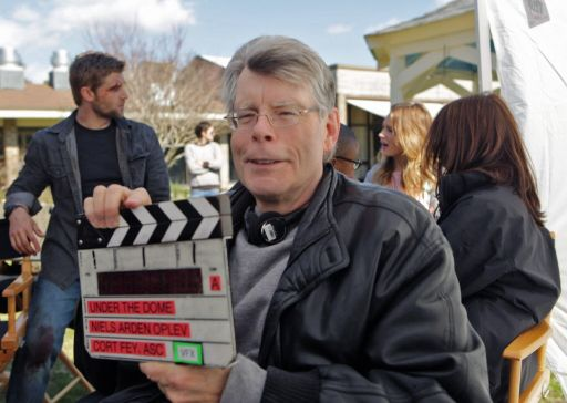 séries de stephen king - stephen king tournage UNDER THE DOME