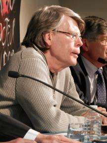 Stephen King en France - conference de presse