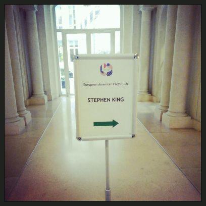 Stephen King en France - conference de presse 1