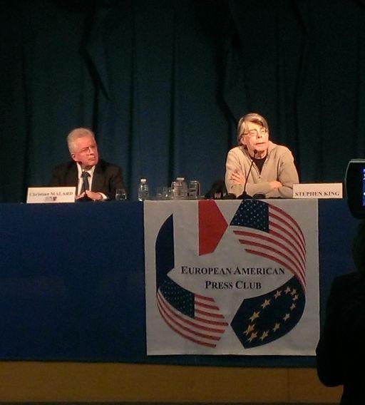 Stephen King en France - conference de presse 2