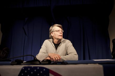 Stephen King a la conference de presse, photo officielle, Bruno Klein