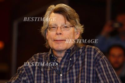 Stephen King en France, photo par BestImage