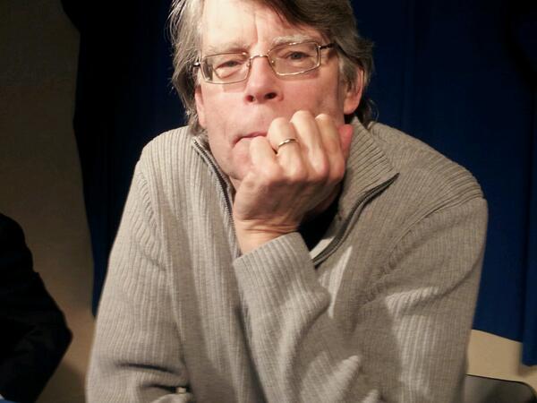 Stephen King a la conference de presse